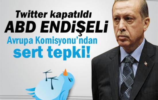 Twitter kapatıldı ABD endişeli