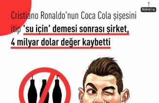 Ronaldo'nun coca cola videosu
